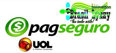 LOGO PAG SEGURO UOL BRASIL LYZZY